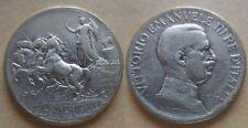 1 lira 1915 rara argento