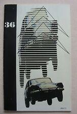 1974 Citroen Le Double Chevron Magazine # 36
