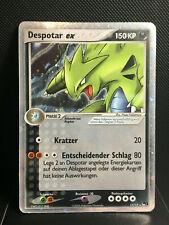 Despotar Ex | POP Series 1 | moderat bespielt | deutsch | Pokemon Karte