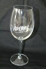 """Aperol Spritz Calice Glas Gläser Ballonglas aus Aperol Flasche geformt /""""1919/"""""""