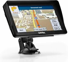 GPS Navigation for Car, Lttrbx 7 Inch HD Touch Screen Lifetime Maps Update Car G