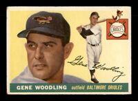 1955 Topps Set Break # 190 Gene Woodling VG *OBGcards*