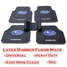 Waterproof Rubber Car Floor Mats Front and Rear for Subaru Vehicles General size