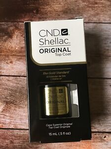CND Shellac Top coat 15 ml 100% Original Made in USA Kit Set
