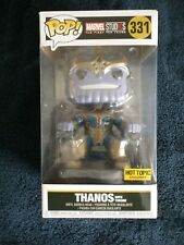 Funko Pop! MARVEL Studios THANOS with Throne #331 Hot Topic Exclusive , New