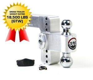 """Weigh Safe 180 HITCH CTB6-2.5 6"""" Drop Hitch 2.5"""" Receiver 18,500 LBS MADE IN USA"""