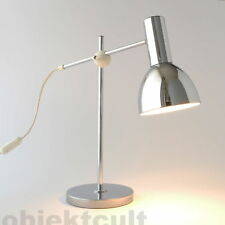 60er 60s Fischer Tischlampe Tischleuchte Table Lamp Chrom 70s 70er stilnovo