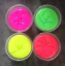 16oz (4x 4oz pots) Glossy Slime Putty - Luminous Colours No Borax Free P+P