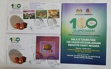 Launch 100 Years Oil Palm Tennamaram Bestari Jaya Malaysia First Day Cover 2017