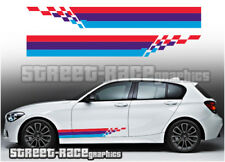 BMW racing stripes 011 graphics stickers decals M Power M sport 1 2 3 4 5 series