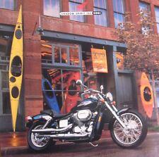 2001 Honda Shadow Spirit 750 Motorcycle Brochure  Xlnt