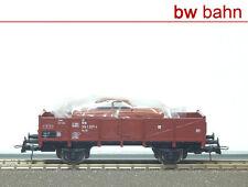 Roco H0 47926 Niederbordwagen Xlm52 DB mit Auto beladen offener Güterwagen Neu