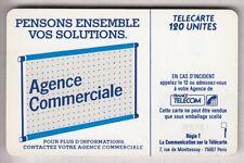 VARIETE TELECARTE LOGO .. 120U Te37 SC6 S/T AE 8 ENVERS GE.25867 UT/TBE  C.22€