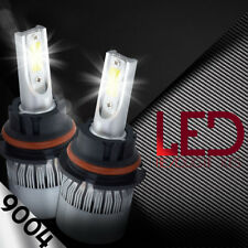 9004 HB1 LED Headlight Kit 1800W 270000LM 2-Sided Light Bulbs White 6000K HID