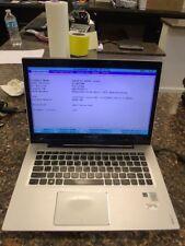 """14.1"""" Lenovo Ideapad U430 Touch Laptop Core i5-4200u 1.60Ghz 4GB WiFi  BT  #X56"""