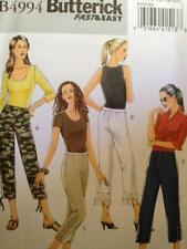 Butterick Sewing Pattern 4994 Ladies Misses Pants Size 6-12 Uncut