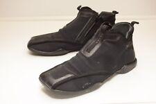 Prada US 7.5 Black High Top Sneakers Men's UK 6.5