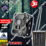 3G Trail Camera Solar Hunting Security GSM Remote Monitoring Scout Night Vision