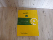 Manuale di istruzioni originale John Deere Mietitrebbia 955 D 1