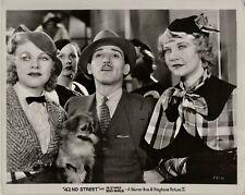 Ginger Rogers, Una Merkel ~ ORIGINAL 1933 scene still ~ 42nd Street