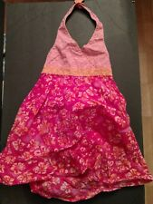YoungLand Girls Pink Floral Dress Size-6