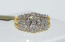 GENUINE 0.47 carats DIAMOND LADIES RING 14k Gold *FREE Shipping & Appraisal*