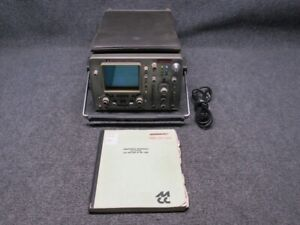 HP Model 1740a Vintage 100MHz 2-Channel Benchtop Oscilloscope w/ Manual *Tested*