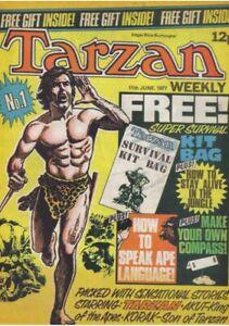 British Tarzan Weekly #1, 1977- Russ Manning, Dan Spiegel