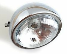 Chrome complete headlight chopper bobber Cafe Racer S90 CS90 ST50 ST70 SS50