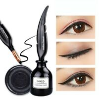 HENGFANG Feather Inked Cushion Liner Lasting Waterproof Black Liquid Eyeliner