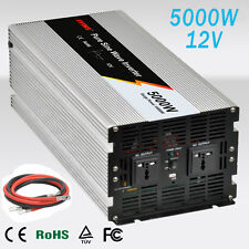 Inversor Onda Pura convertidor 5000W De 12V to AC 230V pure power Inverter