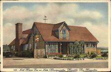 Meredith NH Loch Haven Inn Roadside Lake Winnipesaukee Postcard