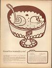 1963 Vintage ad for Schlitz beer retro recipe Gusto Bowl art   090920