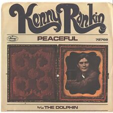 KENNY RANKIN--PICTURE SLEEVE + 45---(PEACEFUL)---PS---PIC---SLV