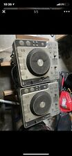 2 Stanton C.314 DJ Tabletop CD Player With Mp3 Playback Mixer Turntable