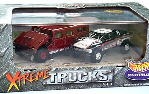 Hot Wheels Collectibles Xtreme Trucks New in Box