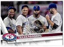 ⚾️ 2017 ~ Topps #430 ~ Texas Rangers TC ~ NmMt=8