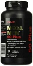 GNC Mega Men 50 Plus Multivitamin - Pack of 120