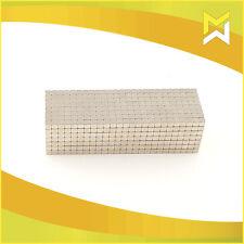100 Stück Neodym Würfel Magnete Super Magneten Pinnwand Büro 5 x 5 x 5 mm N45