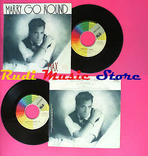 LP 45 7'' MAX COVERI Marry go round 1988 italy CGD 10818 no cd mc vhs *