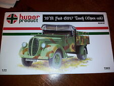 1/72 39M Ford G917 Truck Open Cab Hunor Model WWII RESIN kit 72022