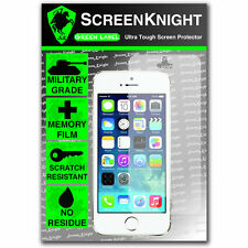 ScreenKnight Apple iPhone 5S FRONT SCREEN PROTECTOR invisible MILITARY shield