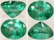 19thC Antique ½ct Emerald Sacred South America Inca Goddess Child Sacrifice Gem