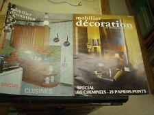 2 revues mobilier décoration la maison et son décor