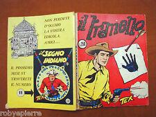 TEX GIGANTE n 10 Araldo L 250 bollino sovrapprezzo dicembre 1964 IL TRANELLO