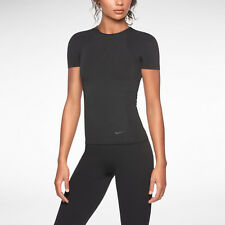 $85 Nike Pro Elite Knit Short-Sleeve Women's Training Top 598186 New Tags  L/XL