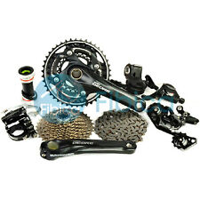 New 2015 Shimano Deore M610 M615 Shadow Plus Lockout Groupset Group set 3x10-sp
