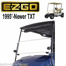 EZGO TXT 1994'-UP Golf Cart Fold Down Windshield TINTED (FAST FREE SHIPPING)