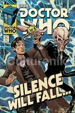 TELEVISION POSTER Silence Will Fall Doctor Who Comic Cover
