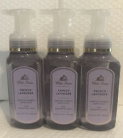 Bath And Body Works 3 Bottles Of French Lavender Gentle Foaming Hand Soaps
